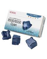 Cyan Solid Ink (3 kostki) Xerox Phaser 8500 / 8550 (zapytaj o cenę promocyjną)