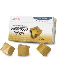 Yellow Solid Ink (3 kostki) Xerox Phaser 8500 / 8550